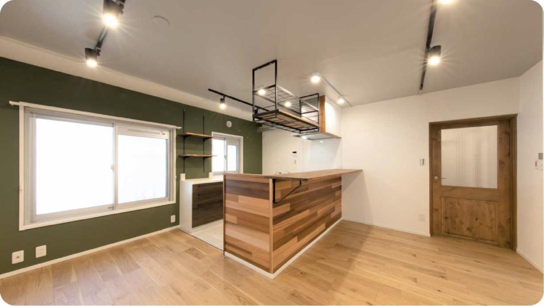 リーズナブルなのに、まるで注文住宅の様な自由設計。
