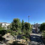 住戸からの開放感のある眺望。目の前には気持ちのいい青空が広がります。