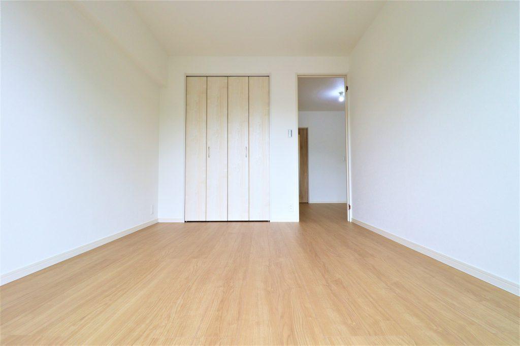 独立したお部屋が3部屋ある間取りです。